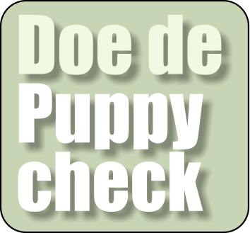 Doe de Puppy check
